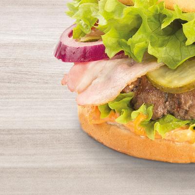 RP Bacon BBQ Burger