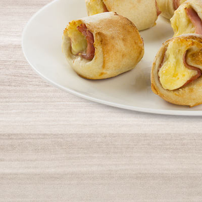 Snack-Rollis mit Putenbrust