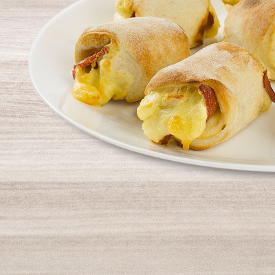 Snack-Rollis mit Sucuk