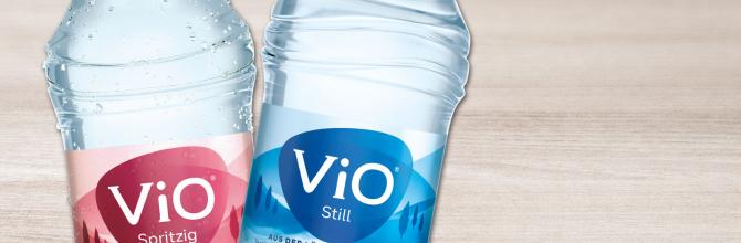 Vio Mineralwasser medium, 0,5l